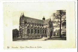 CPA - Carte Postale -BELGIQUE - Bruxelles - Notre Dame Du Sablon -- 1937- S561 - Monumenten, Gebouwen