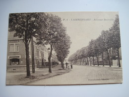 CPSM 59 LAMBERSART, Avenue Derville  1930 T.B.E. Animée - Lambersart
