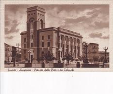 TARANTO. LUNGOMARE. PALAZZO DELLA POSTE E  DEI TELEGRAFI. ED ORAZIO DE SIATI. CIRCA 1930's - BLEUP - Taranto