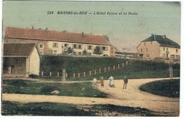 MAISONS DU BOIS (Doubs) Hôtel Faivre Et La Poste CPA - France