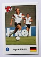 Autocollant Vache Qui Rit Football Jürgen Klinsmann 15 Stars Foot USA 1994 N°3 World Cup Coupe Du Monde - Autres