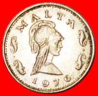 √ DOLPHINS (1972-1982): MALTA ★ 2 CENTS 1976! LOW START ★ NO RESERVE! - Malte