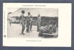 CPA CONGO Ougangui Musique, Tam-Tam De Femmes - Congo Français - Autres