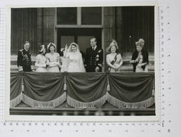 Royal Wedding: Princess Elizabeth And Prince Philip's 1947 Wedding - Vintage PHOTO (SF2-33) - Reproductions