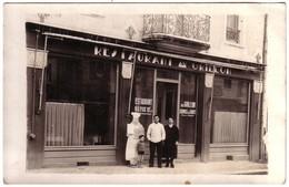 TARBES - Carte Photo De La  Devanture Du Restaurant Le GRILLON.  (De Nos Jours Au 37 Av Du Régiment De Bigorre..) - Tarbes