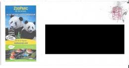 Lettre ZooParc De Beauval. Pandas. (Voir Commentaires) - Briefe U. Dokumente