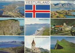 ISLANDE---VESTURLAND--multivues--voir 2 Scans - IJsland
