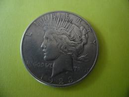 ETATS UNIS AMERIQUE - USA - 1 $ Silver 1923 S Type Paix @ Argent 26,96 Gr. à 90 % - 2 Photos - Federal Issues