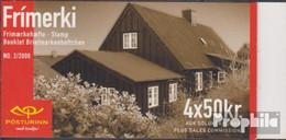 Island Mi.-Nr.: 949MH Markenheftchen Postfrisch 2000 Historische Fahrzeuge - 1944-... Republik