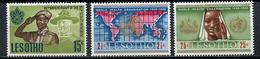 1968 - LESOTHO - Mi. Nr. 44/46 - NH - (CW4755.14) - Lesotho (1966-...)