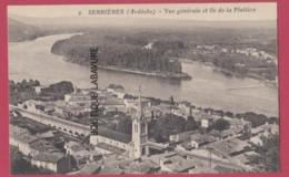 07 - SERRIERES---Vue Générale Et Ile De La Platiere - Autres Communes