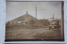 Photo WATERLOO Route Le Long De La Butte Du Lion Voiture 1934 Brabant Wallon - Lieux