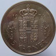 Denmark 5 Kroner 1974 UNC - Denmark