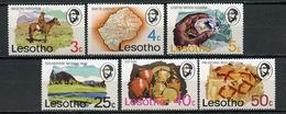 1976 - LESOTHO - Mi. Nr. 200/202+205/207 - NH - (CW4755.14) - Lesotho (1966-...)