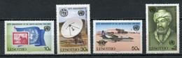 1985 - LESOTHO - Mi. Nr. 536/539 - NH - (CW4755.14) - Lesotho (1966-...)