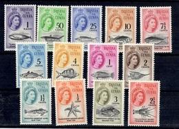 Tristan Da Cunha YT N° 42/54 Neufs *. B/TB. A Saisir! - Tristan Da Cunha