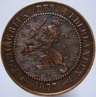 Netherlands 2 1/2 Cent 1877 AUNC / UNC - 1849-1890 : Willem III