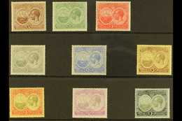 1920 Tercentenary Set, SG 59/67, Very Fine Mint (9 Stamps) For More Images, Please Visit Http://www.sandafayre.com/itemd - Bermuda
