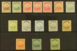 "1922-34 ""SHIPS"" Watermark Multi Script CA Mint Range With Most Values To 1s, Includes 1d Carmine Die II (x2), 1d Scarlet - Bermuda"