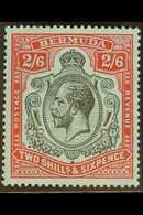 1924-32 2s6d Black & Carmine/pale Blue, SG 89, Never Hinged Mint For More Images, Please Visit Http://www.sandafayre.com - Bermuda