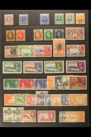 1907-2005 MINT COLLECTION. An ALL DIFFERENT Collection On Stock Pages That Includes 1907 KEVII 6d, KGV Defins To 1s & Ju - Cayman Islands
