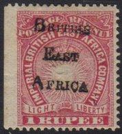 1895 1r Carmine Handstamped, SG 65, Very Fine Mint, Sheet Edge At Left. For More Images, Please Visit Http://www.sandafa - Publishers