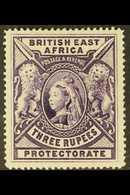 BRITISH EAST AFRICA 1897 3r Deep Violet, SG 94, Very Fine Mint. For More Images, Please Visit Http://www.sandafayre.com/ - Publishers