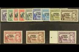 1952 KGVI Definitives Complete Set, SG 1/12, Never Hinged Mint. (12 Stamps) For More Images, Please Visit Http://www.san - Tristan Da Cunha