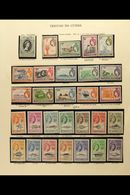 1953-78 SUPERB MINT COLLECTION On Printed Album Pages, Except For 1972 Longboats Set, Collection COMPLETE FROM 1953 Coro - Tristan Da Cunha