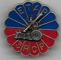3e RCP - ETAP - Mortier De 120 - Insigne Balme - Landmacht