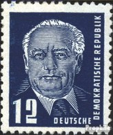 DDR 323z A X II Geprüft Gestempelt 1952 Präsident Wilhelm Pieck (II) - DDR
