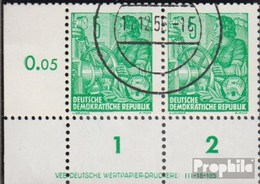 DDR Mi.-Nr.: 406ND DV Mit Druckvermerk Neudruck Gestempelt 1957 Fünfjahresplan (II) - Oblitérés