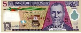 Guatemala P.new 5 Queztal 2013   Unc - Guatemala