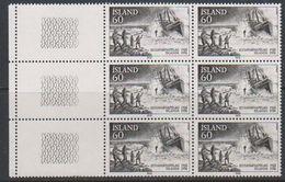 """Iceland 1978 Bergung Der Englischen Fischkutters """"Dhoon"""" 1v Bl Of 6 ** Mnh (39201F) - Nuevos"""