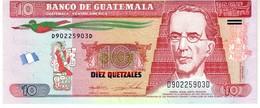 Guatemala P.new 10  Queztal 2015   Unc - Guatemala