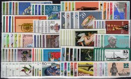 Topics 20 Sets DDR 1976+1977 ** 63€ Tiere Kunst Vögel Sport Fauna Art Person Space Olympic Flora Set Of GDR Germany - Stamps