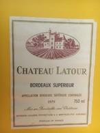8446 - Château Latour 1979 - Bordeaux