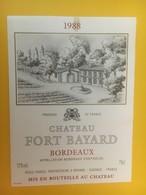 8448 - Château Fort Bayard 1988 - Bordeaux