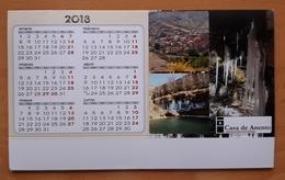 2018. CALENDARIO TAMAÑO MEDIANO. ANENTO (ZARAGOZA). ESPAÑA. - Calendarios