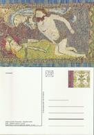 Slowakei GS 'Paramente, Liturgische Textilien' / Slovakia P.c. 'Paraments - Liturgical Textiles' **/MNH 2018 - Textil
