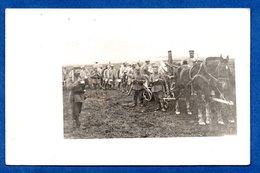 Carte Photo  -  Cuisine Roulante Allemande - Guerre 1914-18