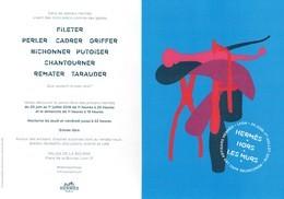 Cartes Parfumées Carte Hermès    HERMES  HORS LES MURS - Perfume Cards
