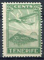LOCALES    Tenerife   Nº  10    Sin Charnela  -329 - Verschlussmarken Bürgerkrieg