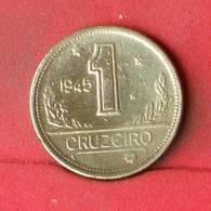 BRAZIL 1 CRUZEIRO 1945 -     558 - (Nº23501) - Brésil