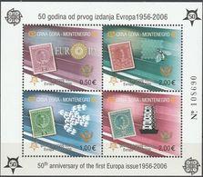 """Montenegro Block 2A(108-11A)  """"50 Jahre Europamarken"""" MNH / ** / Postfrisch ACHTUNG FOTO NUR BILDMUSTER !!! - Montenegro"""
