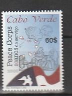 Cape Verde Is. 2008 Peace Corps-Dove (1) UM - Islas De Cabo Verde