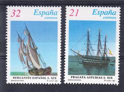 ESPAÑA 1997. BARCOS DE ESPAÑA   EDIFIL Nº SH 3477/SH3478  NUEVOS  SIN  CHARNELA. CECI 2  Nº 93 - 1931-Hoy: 2ª República - ... Juan Carlos I