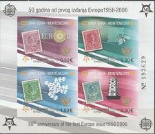 """Montenegro Block 2B(108-11IIA)  """"50 Jahre Europamarken"""" MNH / ** / Postfrisch ACHTUNG FOTO NUR BILDMUSTER !!! - Montenegro"""