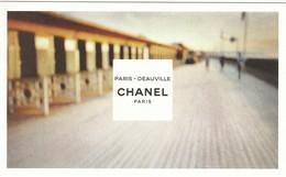 "CHANEL  ""Les EAUX De CHANEL""  * DEAUVILLE*  Format Carte Postale - Modern (from 1961)"