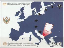 """Montenegro Block 3(n111IIA)  """"50 Jahre Europamarken"""" MNH / ** / Postfrisch ACHTUNG FOTO NUR BILDMUSTER !!! - Montenegro"""